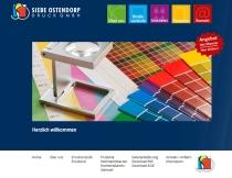 Website Siebe Ostendorp Druck