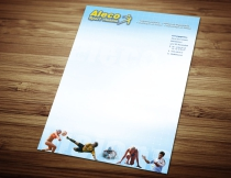 Aleco briefpapier