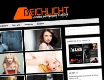 Website Deichlicht | creative photography & styling