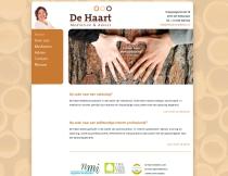 Website De Haart Mediation & Advies