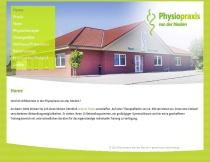 Website Physiopraxis Van der Meulen